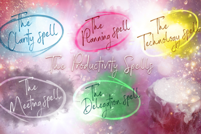 Time Management Magic, Casting the Productivity Spells